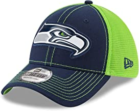 New Era Seattle Seahawks NFL 39THIRTY Fan Mesh Flex Fit Meshback Hat