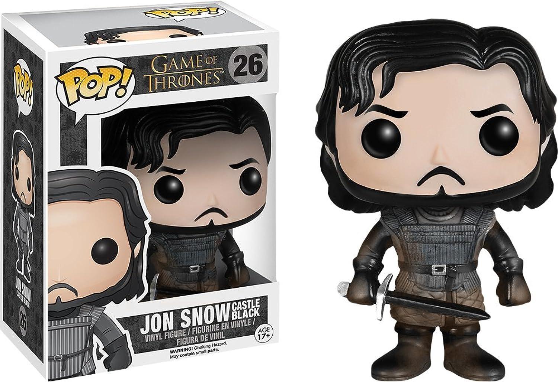 gran descuento Juego de Tronos POP  Vinyl Figura Jon Jon Jon Snow Castle negro Muddy Ver. 9 cm  diseño único