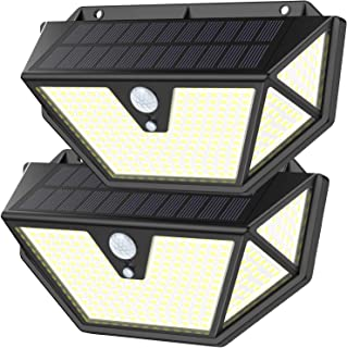Maywindセンサーライト ソーラーライト 12時間超長照明 転化率21%UP 光&人感センサー 3つ点灯モード