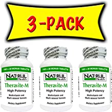 Nat-rul Theravite M 130 Tablets - 3 PACK