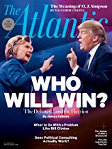 The Atlantic Magazine (October, 2016) Donald Trump. Hillary Clinton, Who Will Win Cover