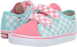 (Checkerboard) Blue Tint/Strawberry Pink