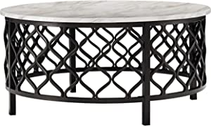 Signature Design by Ashley - Trinson Cocktail Table, Gray/Black
