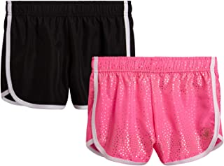 Body Glove Girls 2 Pack Athletic Gym Workout Yoga Running Shorts