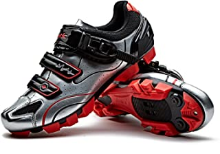 Santic Cycling Shoes Men SPD Mountain Bike Lock Shoes MTB Cycling Accessories Breathable Self-Locking Shoes