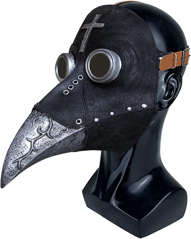 Stegosaurus Plague Doctor Bird 2021 model Mask Beak At the price of surprise Steam Long Cosplay Nose