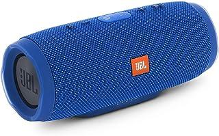 JBL Charge 3 Waterproof Bluetooth Speaker, Blue, JBLcharge3Blueeu, K950987