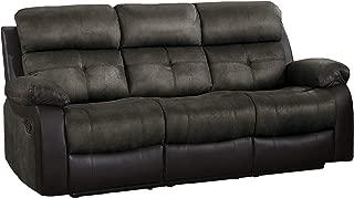 Homelegance Manual Double Reclining Sofa, 82