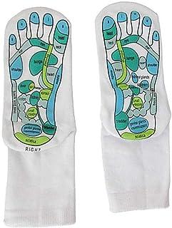 10er 10 Pair of Knee-Socks Foot Massage Mona Relax Travel Socks Massage