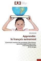 Apprendre le français autrement Broché