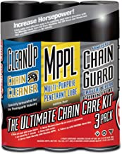 Maxima 70-779203-3PK Synthetic Chain Guard Ultimate Chain Care Aerosol Combo Kit, (Pack of 3)