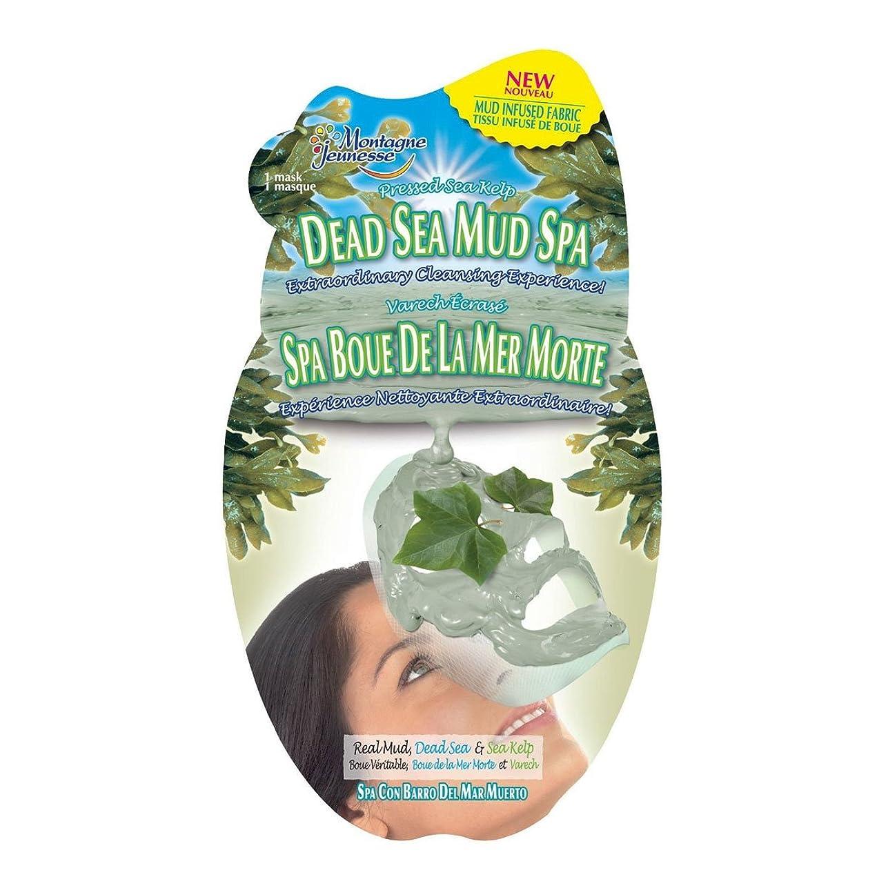 キラウエア山散髪住所Montagne Jeunesse Dead Sea Mud Sheet Masque [並行輸入品]