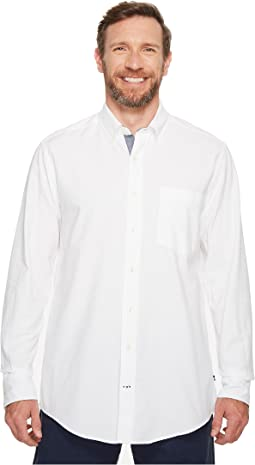 Nautica - Big & Tall The Hitch Long Sleeve Oxford Woven Shirt