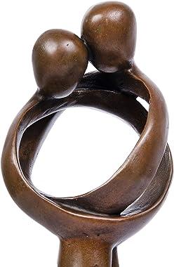 Toperkin Abstract Sculptures Home Decor Lover Statues Bronze BSE-002
