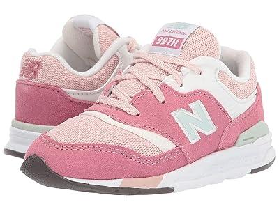 New Balance Kids 997H Essentials (Infant/Toddler) (Madder Rose/Smoked Salt) Girls Shoes