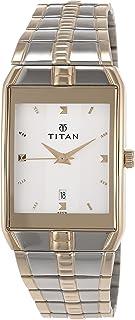 Titan Karishma Analog Silver Dial Men's Watch -NL9151BM01 / NL9151BM01