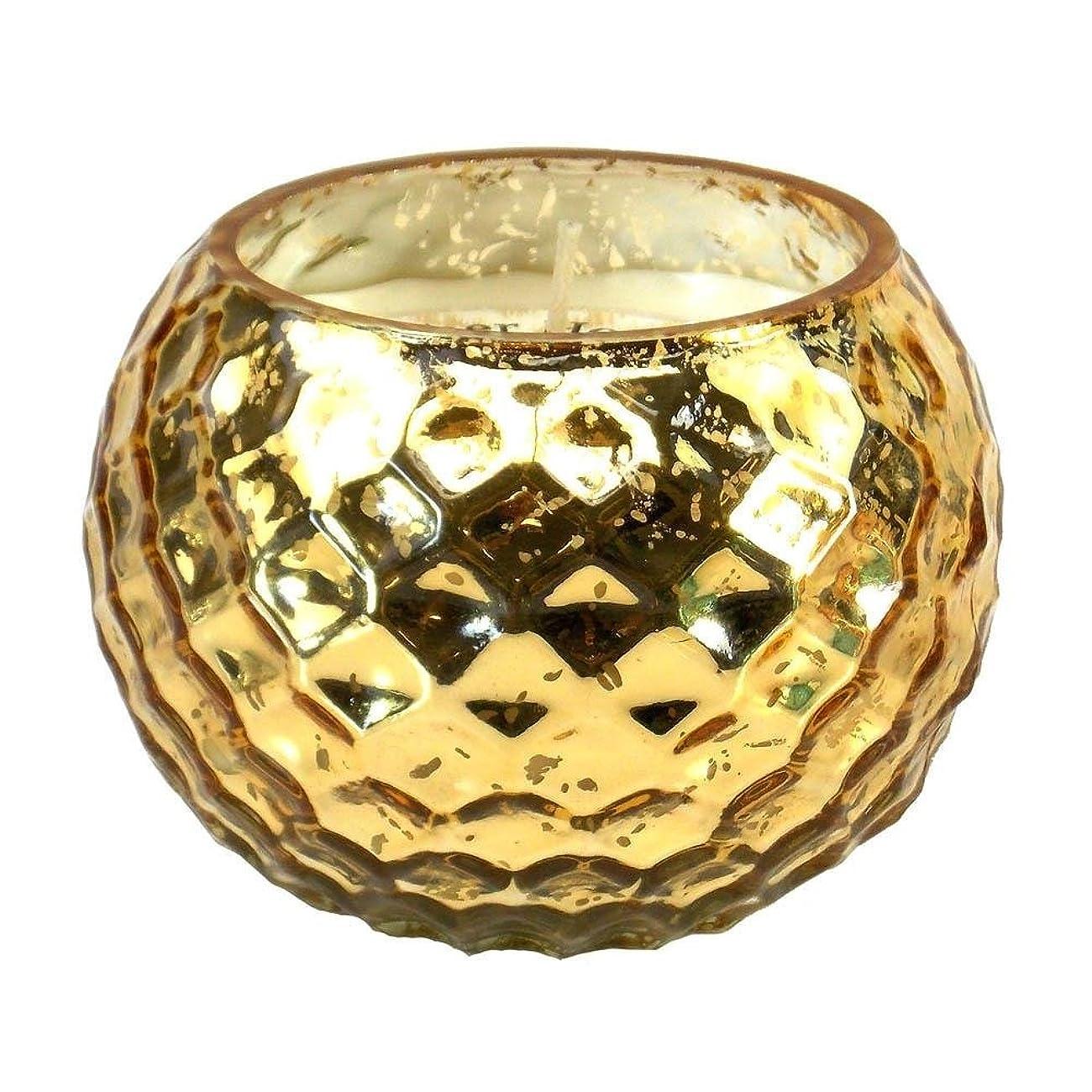 負束予備Scented Candleバニラ、誕生日Golden Honeycomb香り大豆Scented Candleワックス