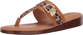 Easy Street womens Slide Sandal, Tan, 6 X-Wide US
