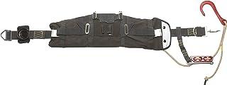 MSA 10119393 Fire Hawk Rescue Belt II System with 50` Aramid/Nylon Rope, Air Hawk II/Fire Hawk Air Mask and Crosby Hook