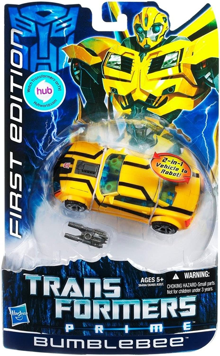 Transformers Prime Deluxe Action Figure First Edition Bumblebee