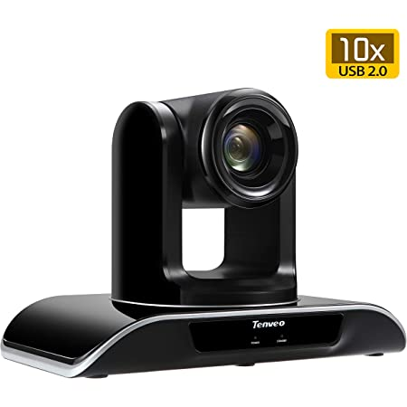 Tenveo Video Conference Camera 10X Optical Zoom Full HD 1080p USB PTZ Camera for Business Meetings (TEVO-VHD102U)