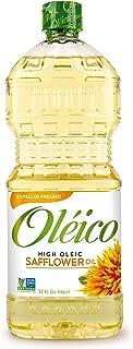 Oléico - High Oleic Safflower Oil 32 fl. oz. (Pack of 3)