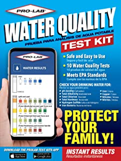 PRO-LAB Water Quality Do It Yourself Test Kit WQ105