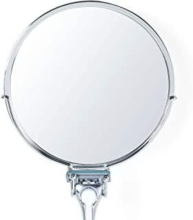 Better Living Products KROMA Stick-N-Lock Plus Anti-Fog Shower Mirror Shower Mirror Chrome