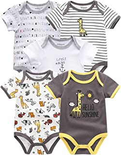 Kiddiezoom Unisex Baby 4er Pack Neutral Fleece Hosen Baby Jungen Mädchen Hosen Bodys 4er Pack