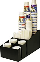 Fountain Cups, Lids and Straw Holder. Holds 64 oz. or Smaller. Professional way to Present your Fountain Drinks. Proudly Made in the USA! by PPM.