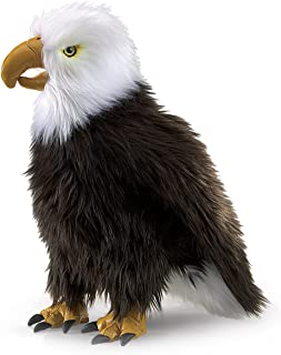 Folkmanis Perched Eagle Hand Puppet
