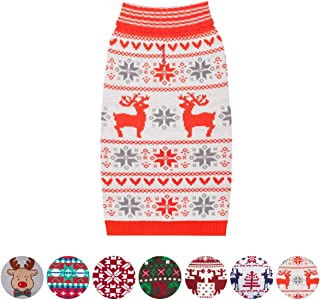Blueberry Pet 15 Designs Christams Clothes - Christmas Family Sweaters for Dogs, Children and Parents, Lovely Sweatshirts for Dogs