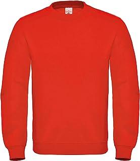 B&C Mens Crew Neck Sweatshirt Top