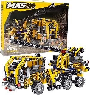 BIRANCO. Crane Truck Building Kit - Educational Learning...