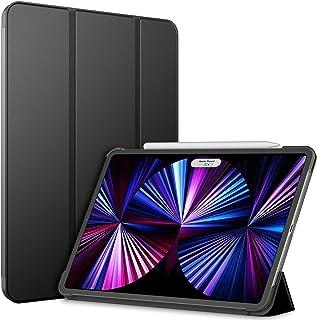 JEDirect iPad Pro 11 ケース 2021/2020モデル適用 三つ折スタンド オートウェイクアップ/スリープ機能 (ブラック)