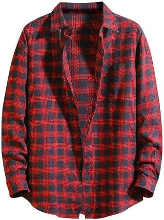 Wodechenshan Camisas Casual para Hombre,Moda para ...