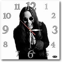 Art time production Ozzy Osbourne 11.8'' Handmade unique Wall Clock - Get unique décor for home or office – Best gift ideas for kids, friends, parents