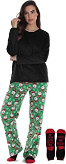 Ultra-Soft Women's Pajama Pant Set - Nightgown with...