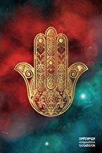 Universe Composition Notebook: Hamsa Hand | 144 Blank Pages | 6 x 9 Journal