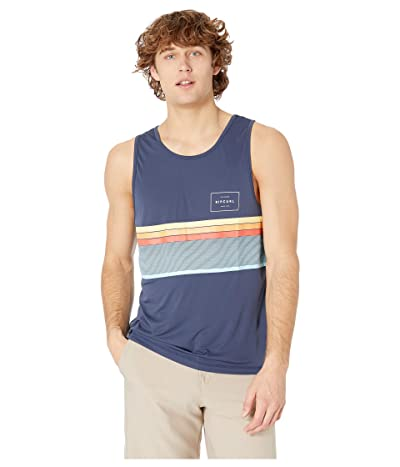 Rip Curl Rapture Surflite UV Tank (Navy) Men