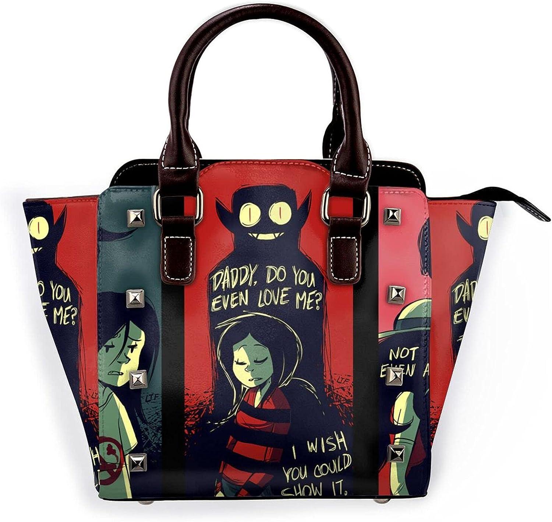 Adventure Time Womens Leather Rivet Max 55% OFF C Tote Shoulder Bag Handbags Oakland Mall