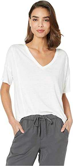 Seamed Burnout Tee