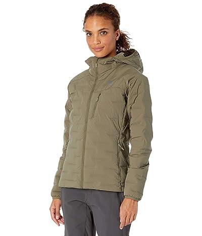 Mountain Hardwear Super/DStm Stretchdown Hooded Jacket (Raw Clay) Women