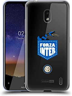 Official Inter Milan Forza Inter 2018/19 The Big Grass Snake Soft Gel Case Compatible for Nokia 2.2