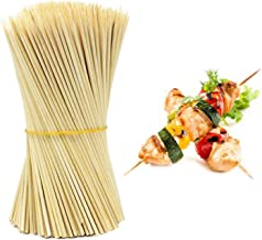 Inditradition Bamboo Barbecue Skewer Sticks   for BBQ, Tandoor, Grill   8 Inches Long (Pack of 90)
