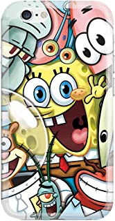 [Ashley Cases] TPU Clear Skin Cover Case for Apple iPhone 5/5S - Sponge Bob Friends