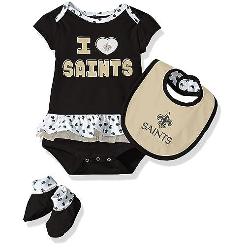 410fc938 New Orleans Saints Baby Clothes: Amazon.com