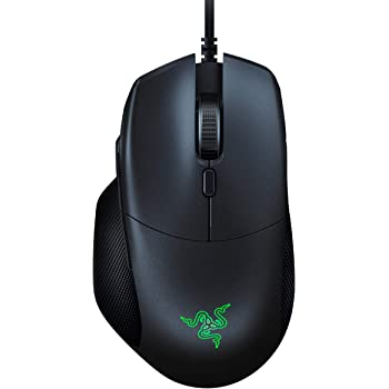 Razer Basilisk Essential Gaming Mouse: 6400 DPI Optical Sensor - Chroma RGB Lighting - 7 Programmable Buttons - Mechanical Switches - Classic Black