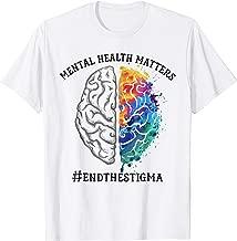 Mental Health Matters End The Stigma T-shirt
