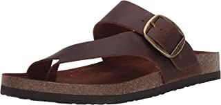 WHITE MOUNTAIN Shoes Harley Leather Footbeds Sandal